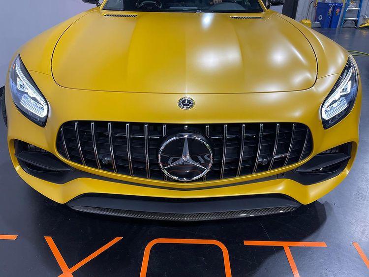 Mercedes Car Wrap Florida